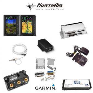 "Kit G3X Touch (GDU 470), doppio monitor 7"" verticale, PFD+GPS+EMS, batteria bkp, install.kit, ant.GPS"