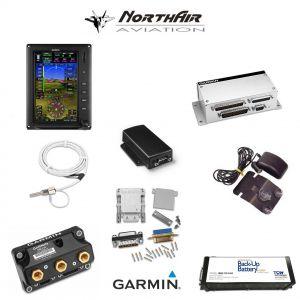 "Kit G3X Touch (GDU 470), singolo monitor 7"" verticale, PFD+GPS+EMS, batteria bkp, install.kit, ant.GPS"