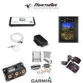 "Kit G3X Touch (GDU 470), singolo monitor 7"" verticale, PFD+GPS, batteria bkp, install.kit, ant.GPS"