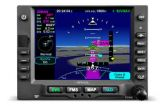 IFD545,GPS/WIFI/BT/FLTA/ARS/RS-170 VIDEO, Black Bezel