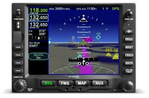 IFD550,10W, GPS/NAV/COM/WIFI/BT/FLTA/ARS/RS-170 VIDEO, Black Bezel