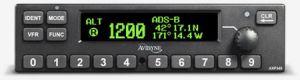 Transponder Mode S AXP340, Black Bezel, con Install Kit