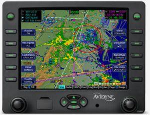 Upgrade da EX500 a EX600 senza Radar Interface, con CMAX