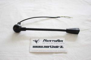 Struttura Braccetto flessibile per cuffie serie HD / Mic Boom Assembly, colore: nero