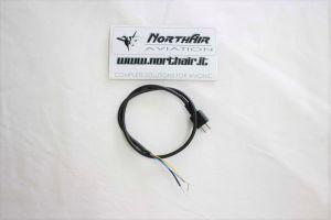 Cavo stampato con spina per microfono aeronautico / Mic 2 Pin Plug & Cord