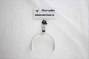 Staffa di fissaggio regolabile per padiglione cuffie serie HD / Headband Stirrup & Clamp