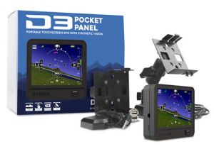 D3 Pocket Panel - EFIS Portatile Touchscreen con Visione Sintetica