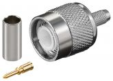 TNC Maschio Dual Crimp for RG 58, 58A,58B, 58C