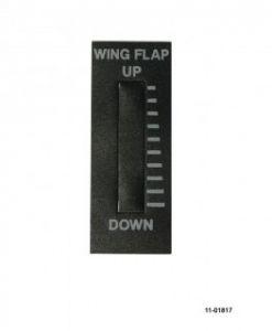 Adesivo placchetta frontale per indicatori Ray Allen RP3 Wing Flap