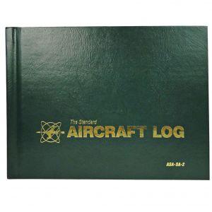 ASA Aircraft Log Book (SA-2 Green Hard Cover)