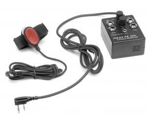Interfono Portatile 2 posti , Tipo. Pilot, con connessione diretta a radio ICOM IC-A14/ IC-A24