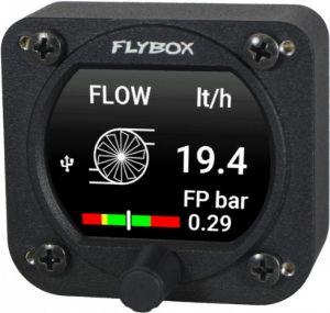 Flybox Omnia57 FUEL COMP, Dual sensor Fuel Computer + Fuel Pressure