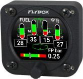 Flybox Omnia57 FUEL L-P, 4 Fuel Levels + Fuel Pressure