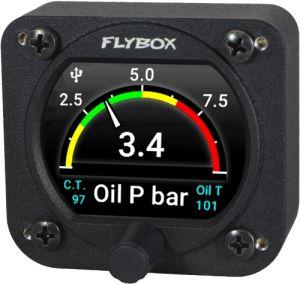 Flybox Omnia57 OIL-P-T-CT, Oil Pressure+Oli Temp+Coolant Temp