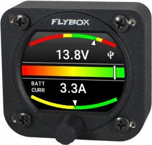 Flybox Omnia57 VOLT-AMP, Voltmeter + Ampmeter with Diagnostics