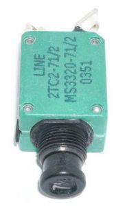 Breaker 2TC2 Series 2TC2-1, 1 Amp