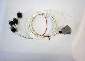 Cablaggio Micro Air 760VHF all'intercom PS series intercom, completo con kit connettori