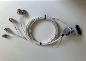 Cablaggio PS eng. PCD7100 intercom + cd player, senza kit connettori