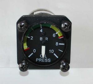 "Indicatore OIL Pressure, 1 1/4""d, UMA, *** usato p/n N04113V010B010, per bulbo VDO 0-10 Bar"