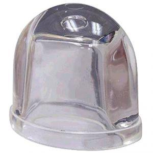 Vetro lampada strobo di ricambio, trasparente, Clear Lens Whelen mod. A612