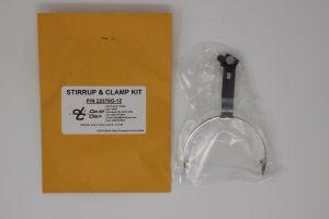 Archetto in metallo David Clark , Stirrup & Clamp Kit, P/N 22378G-12