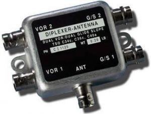 Antenna Diplexer Comant CI-1125 , 2 VOR, 2 GS, 1 Antenna