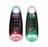 Whelen MB3K Microburst 3 Plus Kit, Strobo e Nav, coppia di luci alari a led