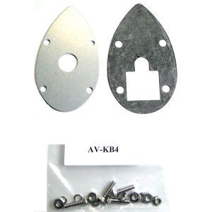 Installation kit per antenne RAMI, mod. AV-KB4, per ( AV10, AV-14, AV-17)