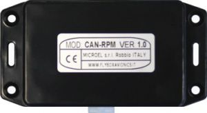 CAN-RPM Rotax 912 Is. RPM adapter, Convertitore Flybox per contagiri digitale/analogico
