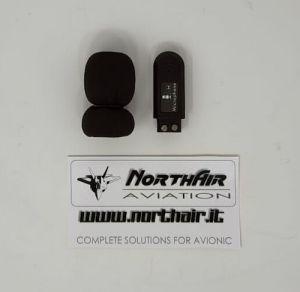 Microfono a elettrete  per cuffie Mod. Pilot 2.0