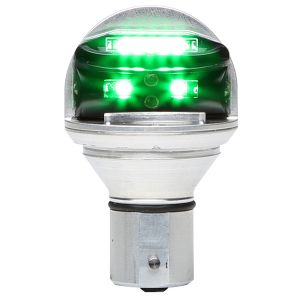 Luce di posizione LED, mod. Whelen CHROMA, 28V, colore verde, TSO