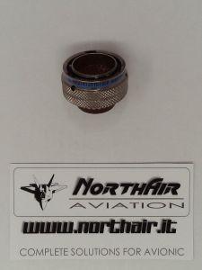 Connettore circolare MIL 55 poli femmina pin micro maschi MS274733T16F35P Amphenol **NUOVO**