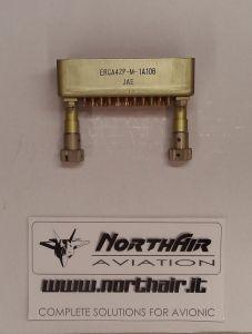 Connettore 42poli maschio pin maschi  a saldare ERCA42P-M-1A106 JAE **NUOVO**