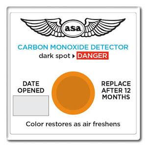 ASA CO2 detector, rilevatore di monossido di carbonio