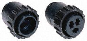 TYCO Connettore circolare presa maschio 3 poli montaggio a cavo, pin e guscio da 17.