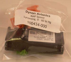 """Sensore Dynon Manifold Pressure, MAP , attacco 1/8"""" 0-60 In Hg"""
