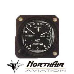 Altimetro range 0-1000 - 20000 feet, 57d , millibar, form 1