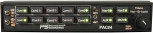 PAC24  audio panel  5 posti , plug and play con KMA24 bendix