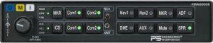 PMA6000B-Opt 2 4-place mono intercom, split coms, speaker amp No Marker
